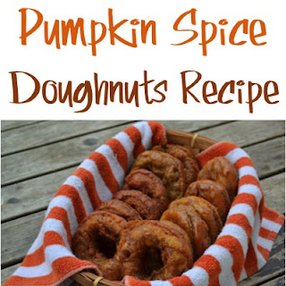 Pumpkin Spice Doughnuts with Brown Sugar and Molasses Glaze