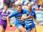 Jean-Luc du Plessis of the Stormers scores a try during the Super Rugby match between DHL Stormers and Highlanders at DHL Newlands Stadium on May 25, 2019 in Cape Town, South Africa.
