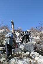 Photo: Uspon na Šikovac (730 m)