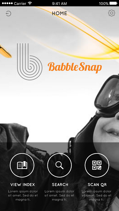 BabbleSnap Mobile- screenshot