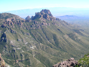 Photo: The left edge of Juniper Canyon is dominated by Crown Mountain.