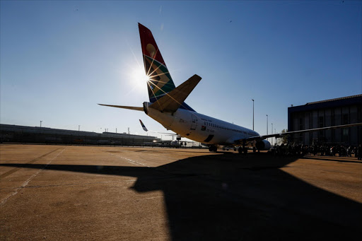 This Boeing 737 operated by SAA made aviation history this week as the first commercial flight in Africa to use jet fuel derived from plant material. SAA and Mango used the biofuel, made from a type of tobacco called Solaris, on flights between Johannesburg and Cape Town on Friday. The plants are being grown in Limpopo by Sunchem SA.