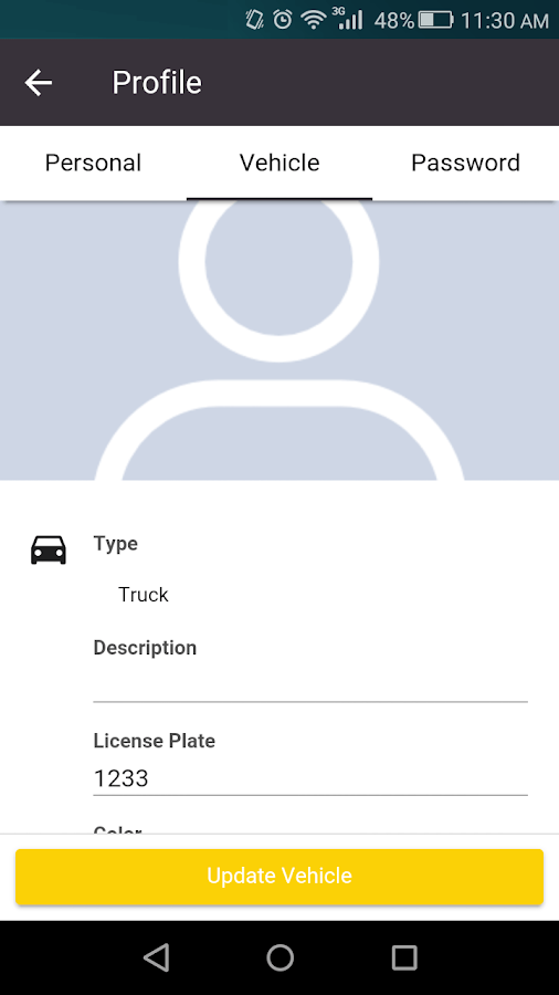 Pickup and Delivery Service – Docxta- screenshot