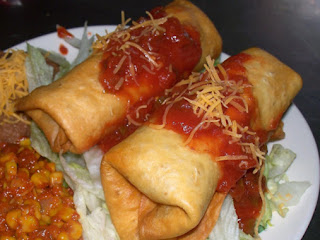 Beef Chimichangas Recipe