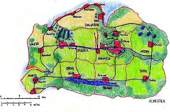 Photo: Alphistia map (1995)