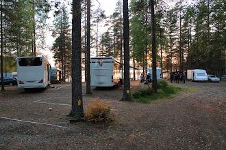 Photo: Tapahtumaan saapui 13 vaunu-/autokuntaa Kainuusta.
