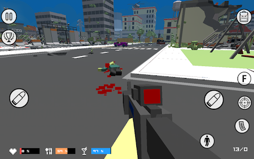 Pixel Box: Zombie Revolution Screenshot