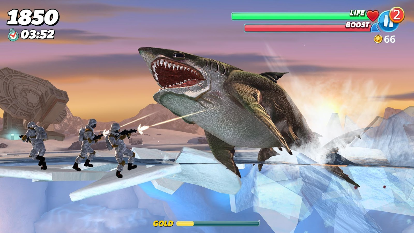 hungry shark spielen