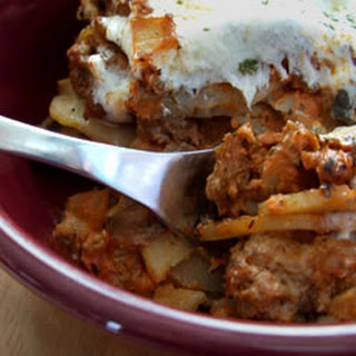 Italian Scalloped-Potato & Beef Casserole