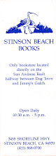Photo: Stinson Beach Books