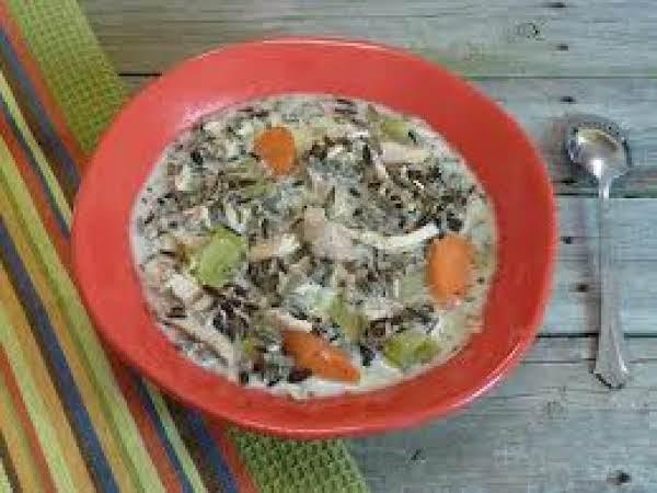 Elegant Wild Rice Soup Recipe
