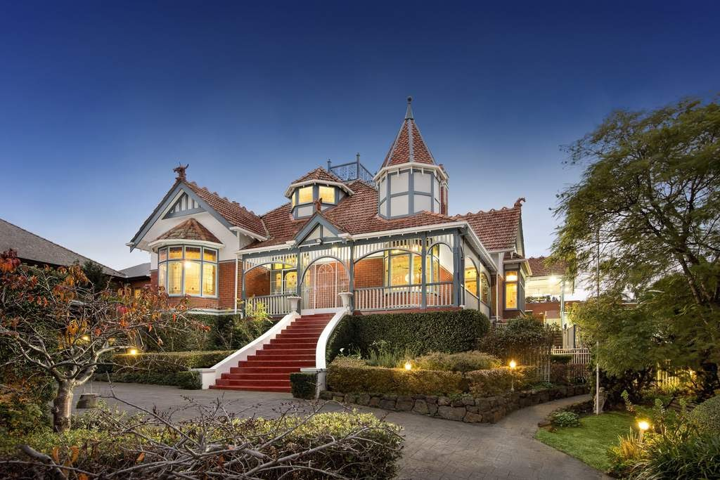 The remarkable 'Lugano', 215 Clarke Street, Northcote, Victoria