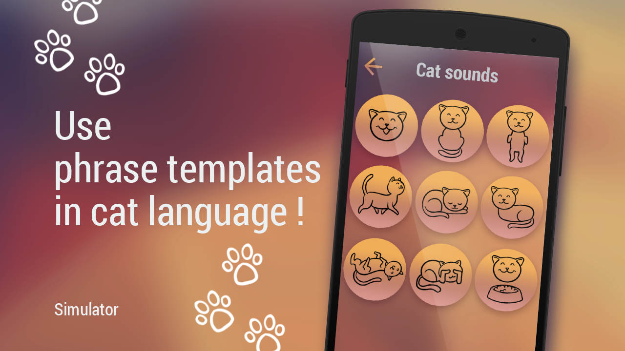 Translator for cats Simulator- screenshot