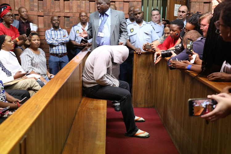 The man accused of raping a child at a Dros restaurant in Pretoria appeared in the Pretoria Magistrate's Court on October 2 2018.