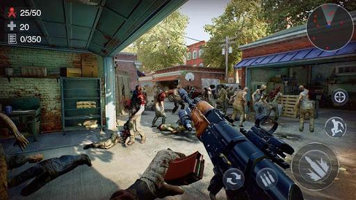 Zombie Survival Shooter: 3D FPS Kill Hunting War  screenshots 4