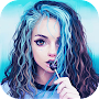 Cute girly m new pictures & Themes HD  2018 APK icon