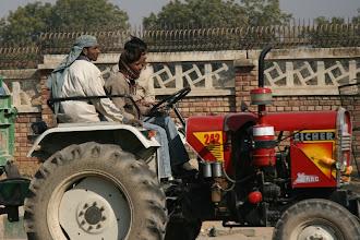 Photo: Delhin liikennettä!
