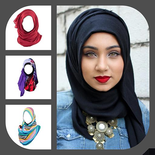 Hijab Fashion Suit Photo Editor