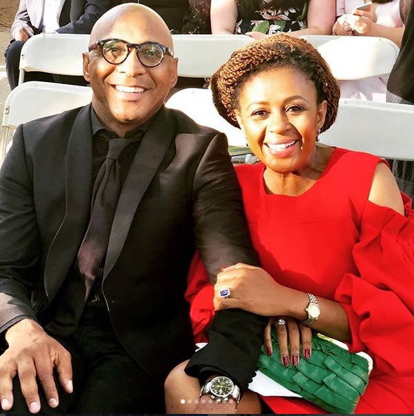 Romeo and Basetsana Kumalo.