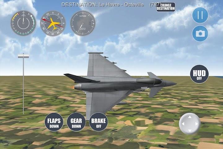 android Airplane Paris Screenshot 1