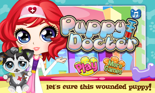 Cute Pet Puppy Doctor