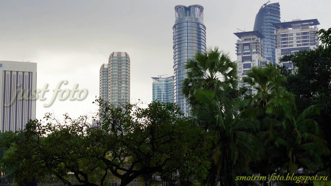 Куала-Лумпур небоскрёбы