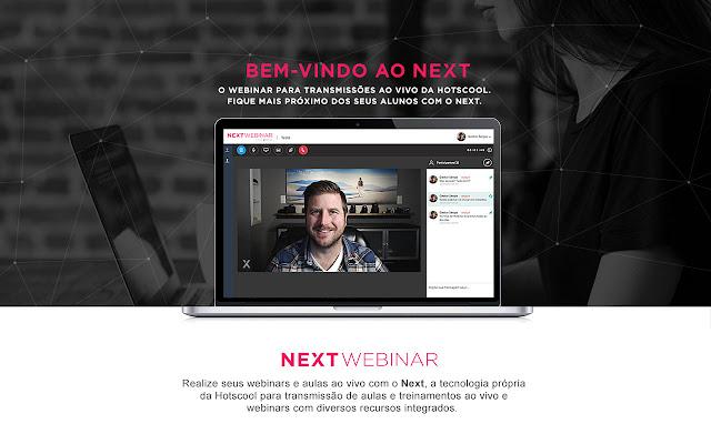 Next Webinar - Extensão Compartilhar Tela