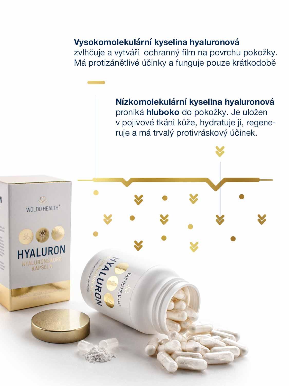 účinky kyseliny hyaluronové