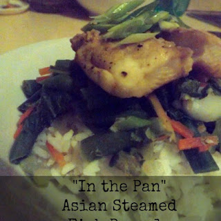 """""""In the Pan"""" Asian Steamed Fish Parcels."""