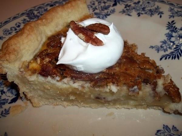 ~ Pecan Cheesecake Pie ~ Easy Recipe