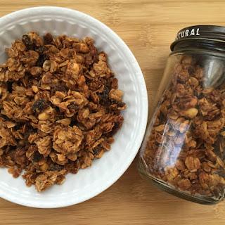 Homemade Peanut Butter Granola
