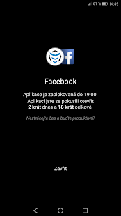 AppBlock - NE prokrastinaci - náhled