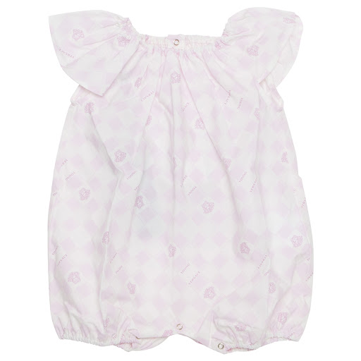 Primary image of Young Versace Pink Medusa Romper