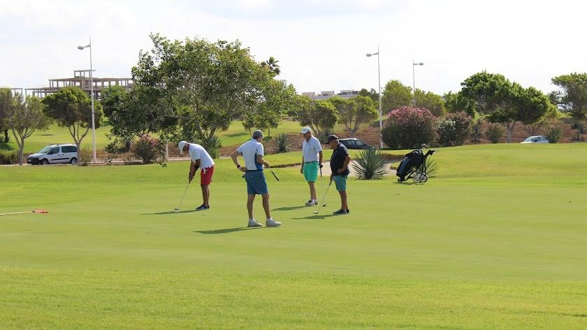El mejor golf en la Feria.