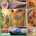 Flower Tattoo Pattern Ideas icon