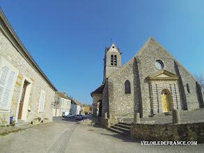 Photo: L'Eglise de Maincy - e-guide circuit balade à vélo de Bois le Roi vers Vaux-le-Vicomte par veloiledefrance.com  Maincy village old church - Cycling guide to the Château of Vaux-le-Vicomte by veloiledefrance.com