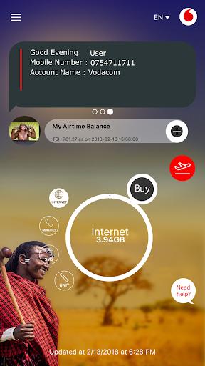 My Vodacom App 2.0.1 screenshots 1