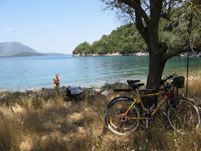 Photo: Bike ride and swim
