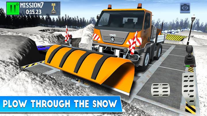 Winter Ski Park: Snow Driver Android App Screenshot