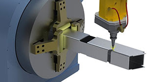 RADAN Radtube ПО для управления специализированным многоосевым труборезочным и профилегибочным оборудованием
