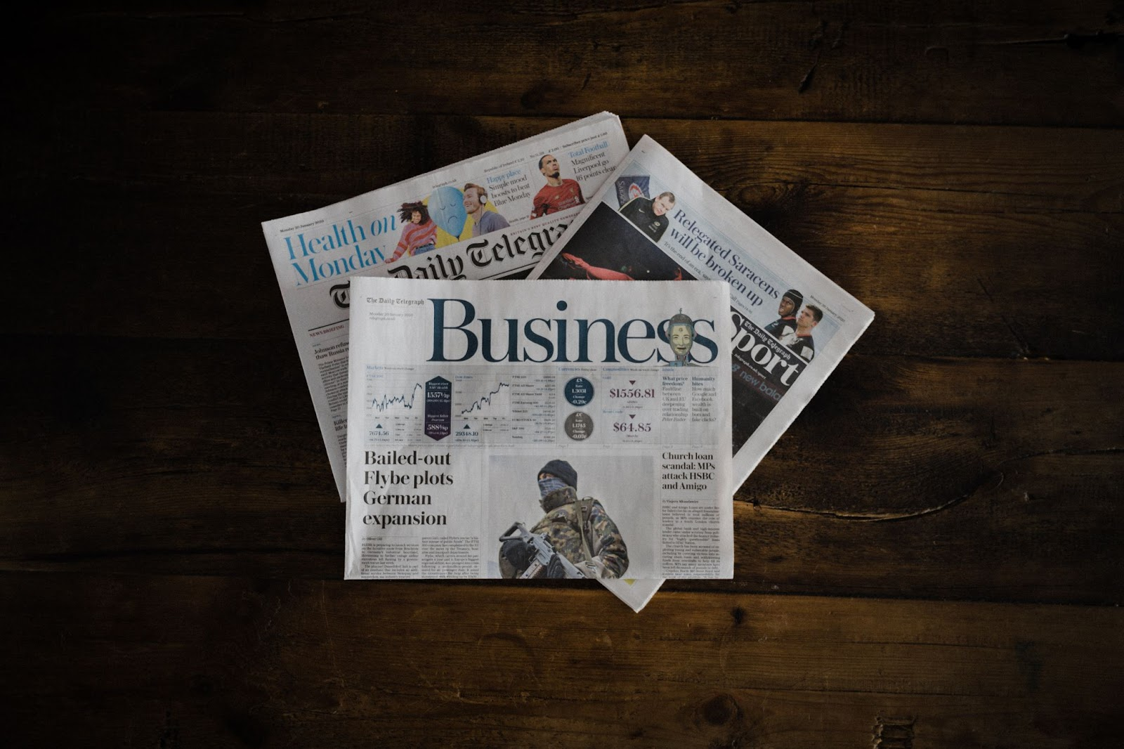 newspapers about financial literacy
