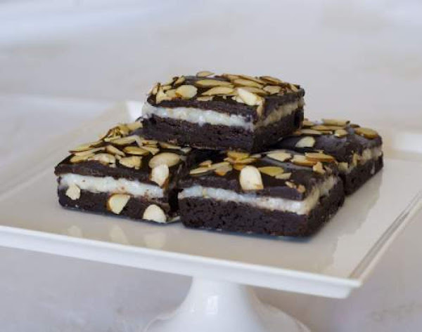 Coconut Fudge Brownies Recipe