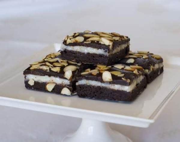 Coconut Fudge Brownies Recipe