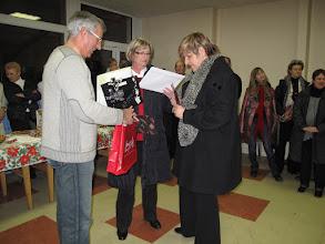 Photo: Deux autres départs en retraite : Mmes Husson et Stirpe
