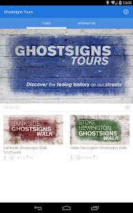 Ghostsigns Tours- screenshot thumbnail