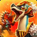 Dino War Brachio VS Triceratops icon
