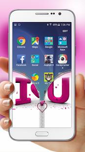 Pink-Love-Zipper-Lock 3