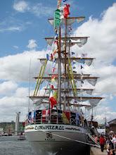 Photo: #021-Journée à l'Armada 2008. Le Cuauhtemoc, un trois-mâts barque (Mexique).