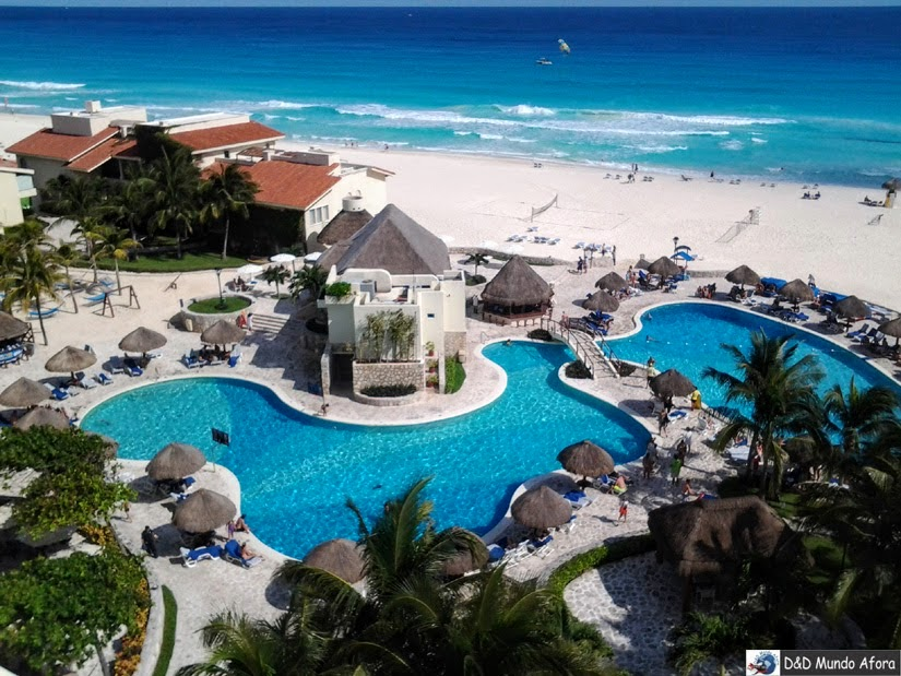 Onde Ficar em Cancun, México - review Hotel Grand-Park-Royal-Cancun