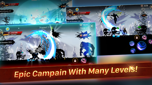 Shadow Fight Heroes - Dark Souls Stickman Legend 2.1 screenshots 3